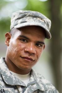 """A Kosraean """"Island Soldier."""""""