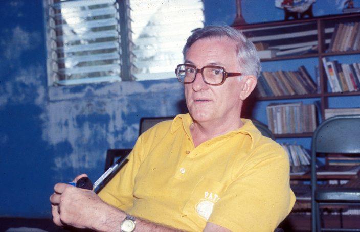 Father Bill McGarry, SJ, circa 1980.